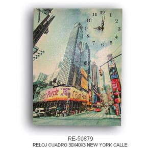 Reloj pared City